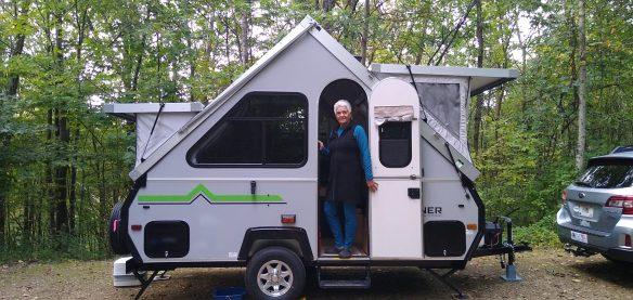 Campsite at Gov. Dodge State Park, WI