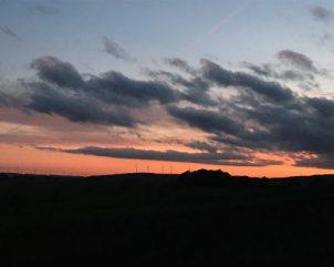 Sonnenaufgang über der Nahe