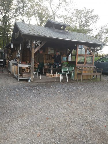 Grillhütte am Stellplatz