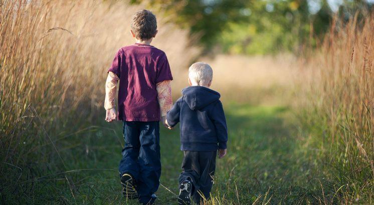 Geschwister sind ein Geschenk [...]