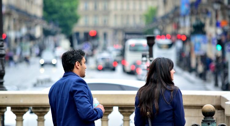 Das Schicksal lässt die Wege, von zwei Menschen, die zusammen gehören, so oft kreuzen, bis beide erkennen, dass sie füreinander bestimmt sind. - Unbekannt