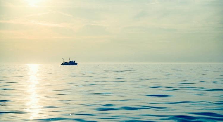 Die Fischer Wissen Dass Das Meer Gefährlich Ist Und Der