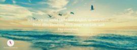 Facebook Titelbild mit diesem Spruch über die Welt, Liebe und Leid.