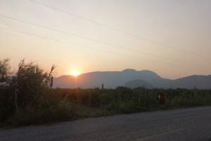 Dalyan Fahrradtour Sonnenuntergang