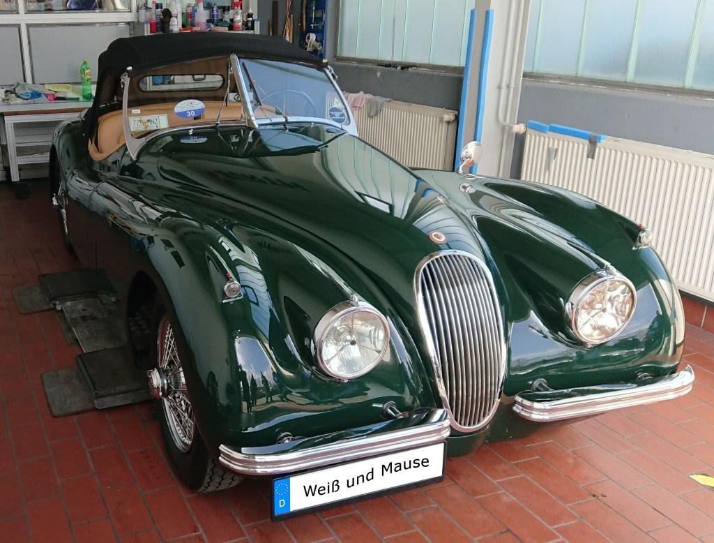 Jaguar XK 120 (1954)