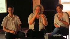 Anna Lengyel und Józef Mélyi beschehren uns einen informativen Abend zum Thema Kulturpolitik