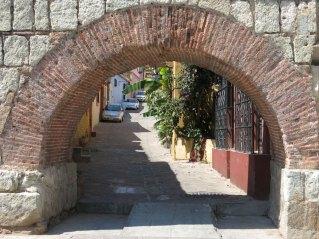 niedliche Gasse in Oaxaca