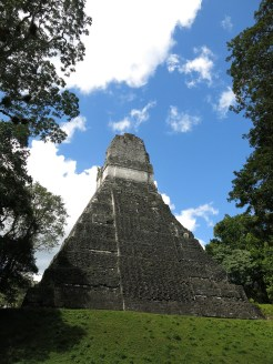 Tempel 1 von hinten