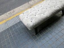Interessanteste Parkbank so weit! – Polstermöbel aus Beton