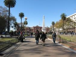 Plaza de Mayo und Casa Rosada