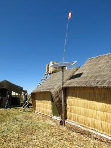 Auf vielen Dächern sehen wir Solar Panels