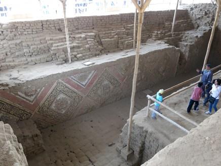 Blick in die dritte Ebene der Pyramide