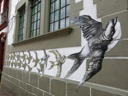 Metamorphose vom Stein zum Vogel ...