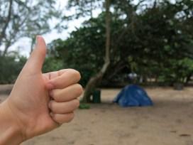 Beste Investition auf Hawaii: einen Abdeckplane!