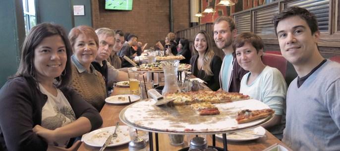 Familientreffen bie Gioradno's