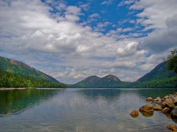 The Bubbles over Jordan Pond