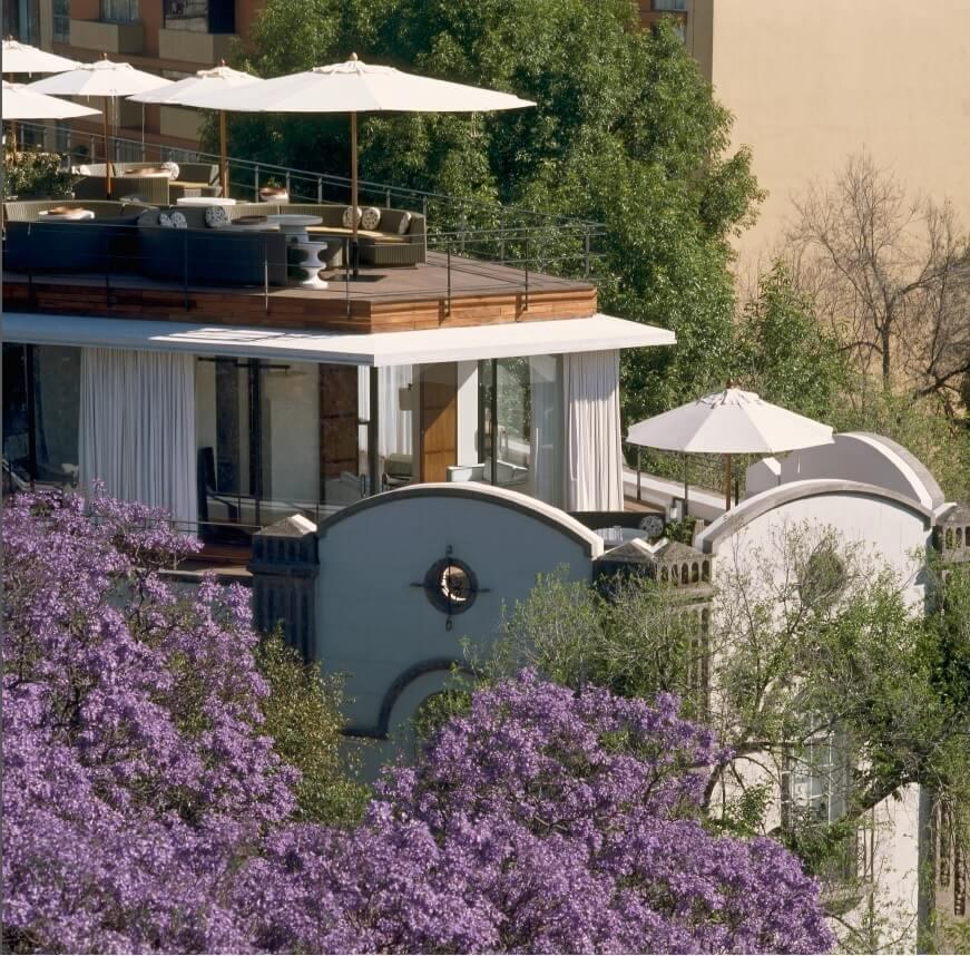 Terraza Hotel Condesa DF