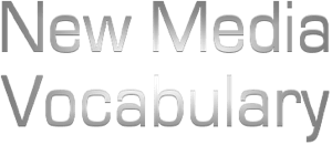 New media vocab logo
