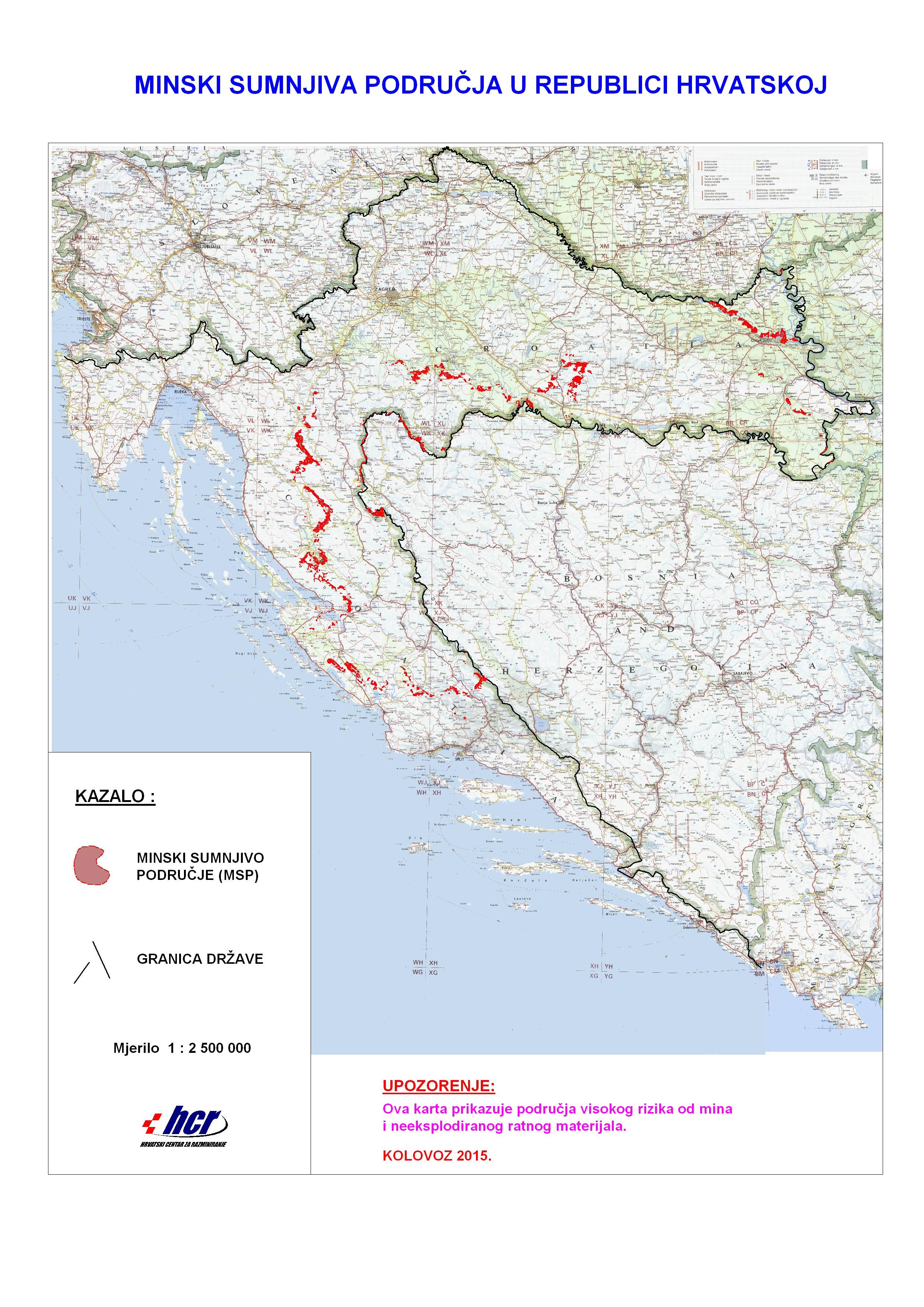 Karta Minskih Polja Dobrodosli