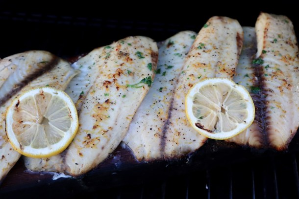 Cedar Plank BBQ White Fish from Welcome2OurTable.com