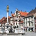 Центр города Марибор Словения