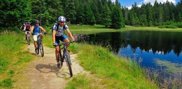 Катание на велосипедах в Словении