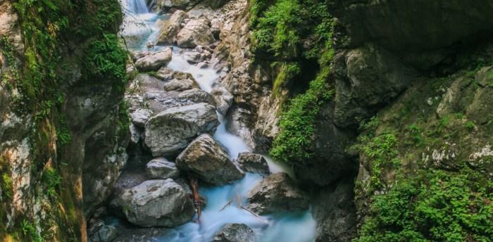 Ущелье Толмин Словения