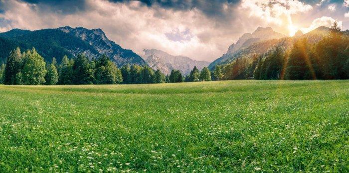 Парк и гора Триглав Словения