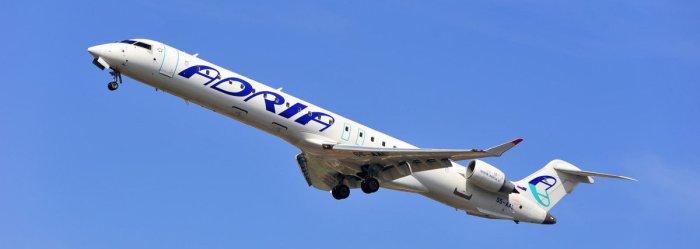 Самолет авиакомпании Адриа