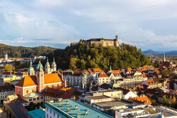 Достопримечательности Любляны - Люблянский град