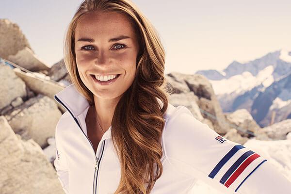 Знаменитая словенская спортсменка Тина Мазе