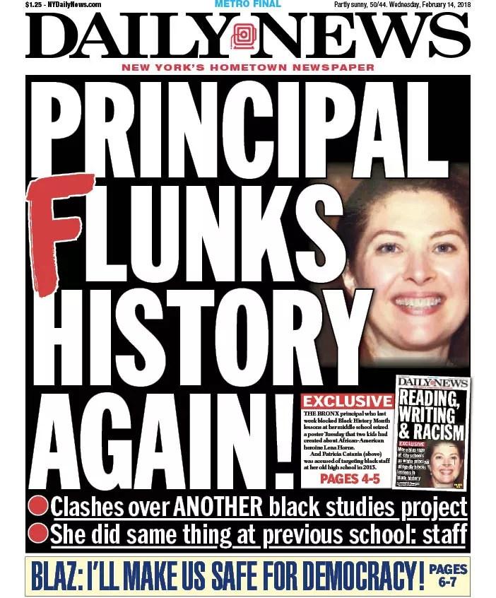 racist bronx principal
