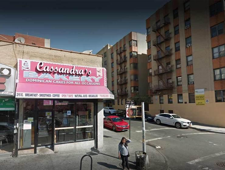 Cassandra's Bakery Bronx Food