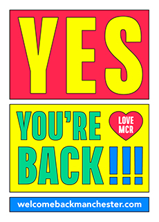 Yes you're back poster thumbnail