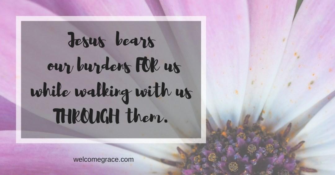 bear burdens