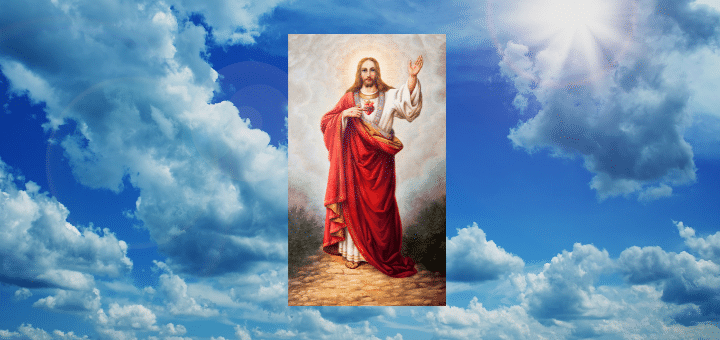 The Sacred Heart and Divine Mercy!