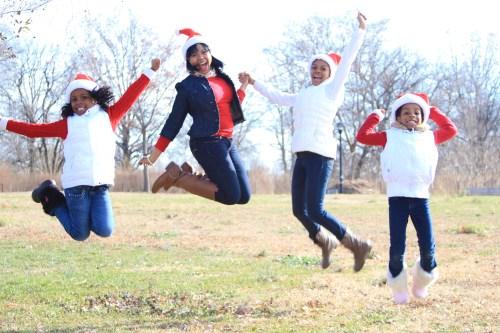Girls Jumping