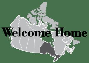 welcome home ontario logo
