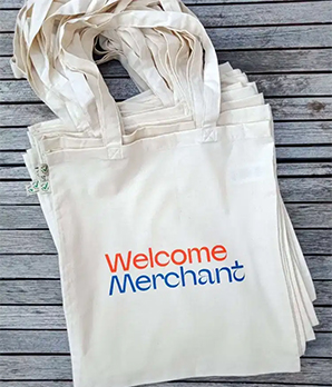 Welcome Merchant Tote Bag