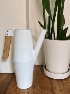 Ikea white Bittergurka metal watering can