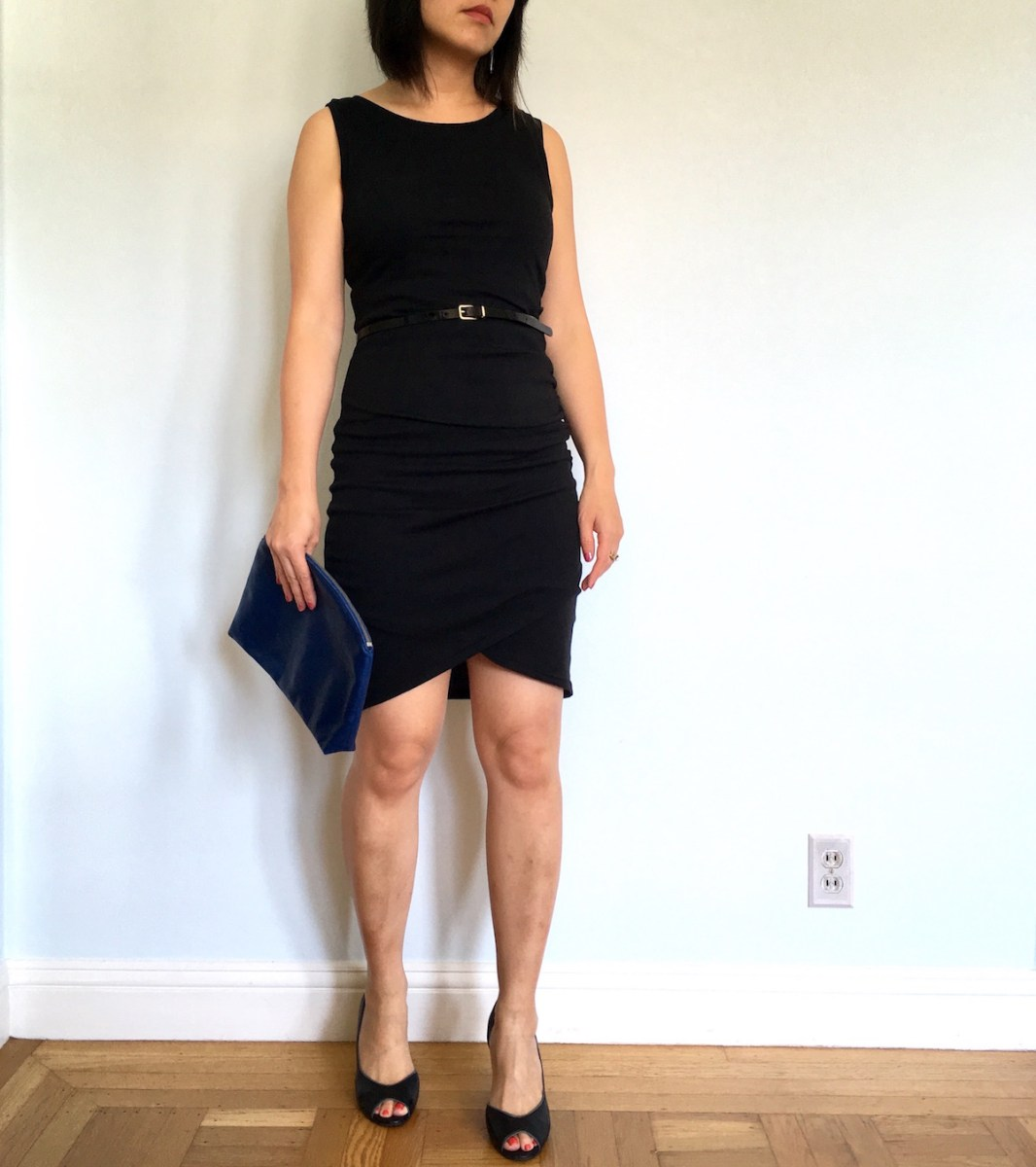 Leith Ruched Bodycon Tank Dress Review