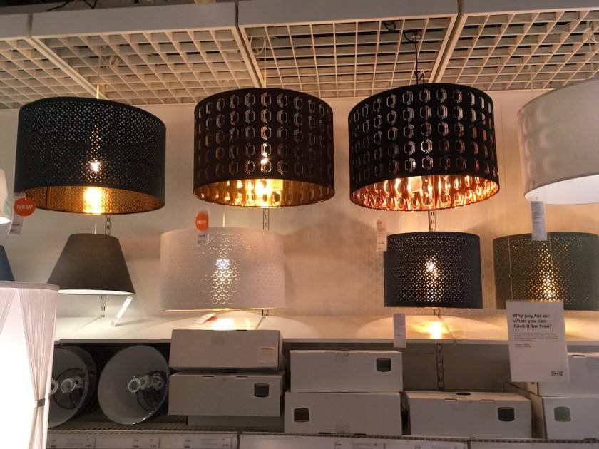 Ikea S Beautiful Nymö Lamp Shade, Large Drum Lamp Shade Ikea