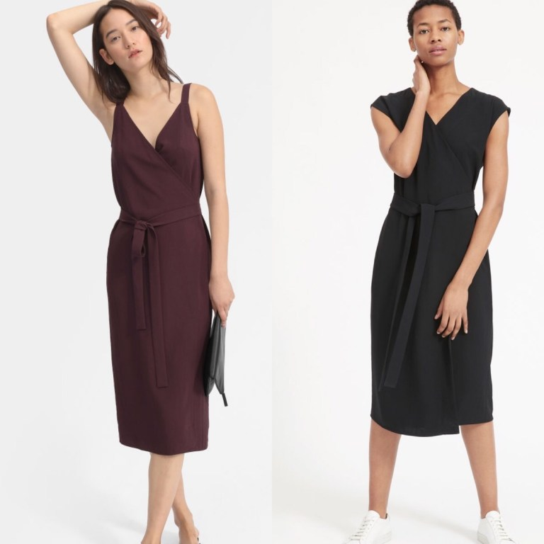 Fitting Room Review Everlane Japanese Goweave Wrap