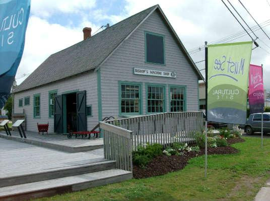 Bishop Machine Shop Museum