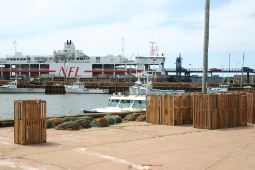 Wood Islands Ferry Terminal and Harbour