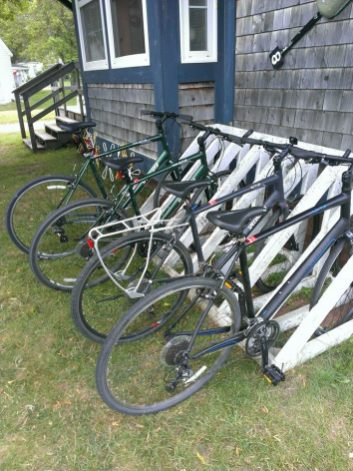 Bike Rentals from Kingfishers Outdoors in Morell PEI