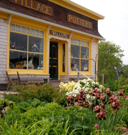 Village Pottery located in New London, PEI