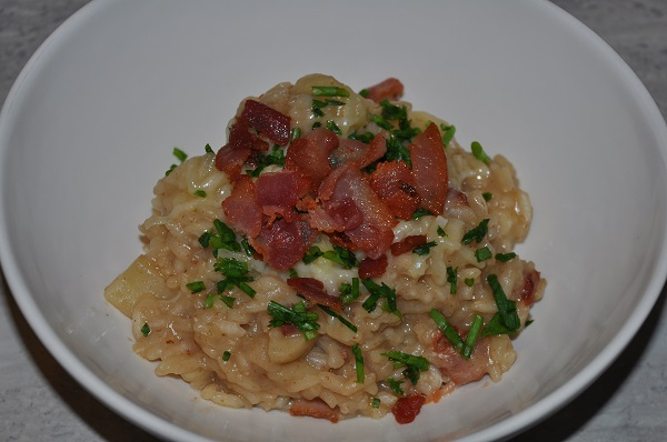 Loaded Baked Potato Risotto Recipe