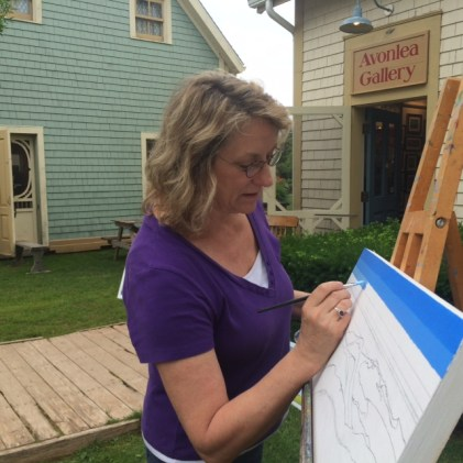 Artist at Avonlea Village