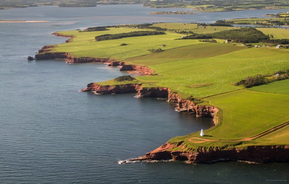 Aerial Photo of PEI